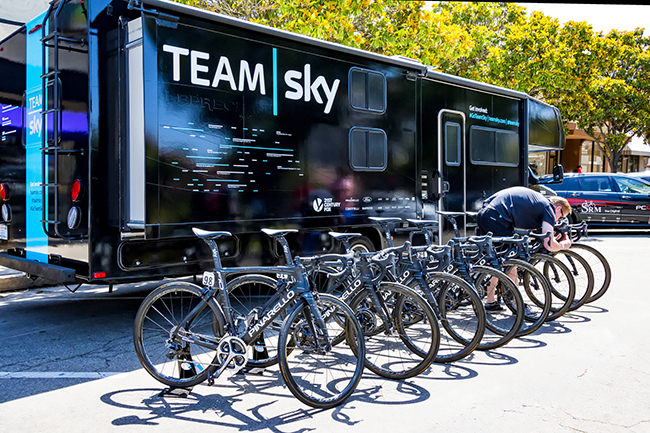 Team Sky Innovatie in sport en bedrijf