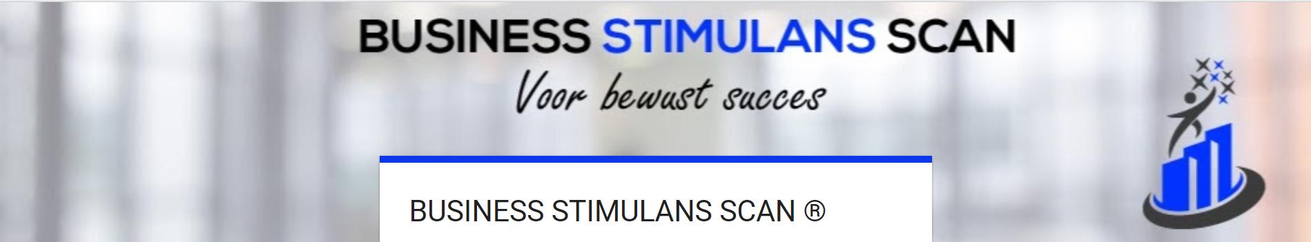 Business Stimulans bedrijfsanalyse - Gratis